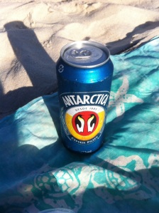 Beer of the day. Antarctica. Very nice. But still 473ml???!!!