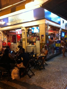 Our current favourite little street bar, Ziza Bar. Knocks spots off the P&P. And much cheaper despite my discount!