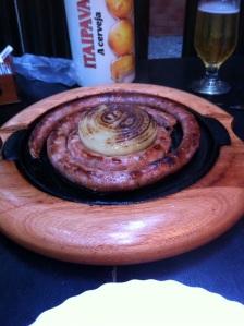 Charlotte's large sausage