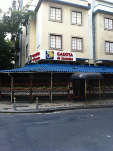 "The bar where ""The Girl From Ipanema "" was written"