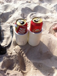 Beers of the day on Leblon beach. 473ml!!!!