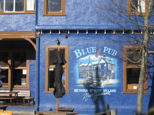 The Blue Pub, conveniently next door to.......
