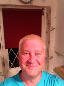 My natural hair colour. Honest.