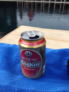 Beer of the Day! Angkor!!! 5.0%! No idea what it costs yet as I'm just putting it on the room bill!