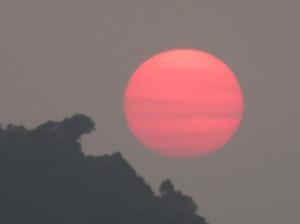 The sun? Or Saturn??