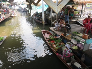 A fantastic restaurant and market in the canals