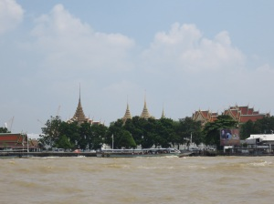 The Grand Palace from the river