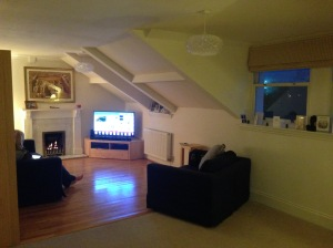Our nice cosy lounge